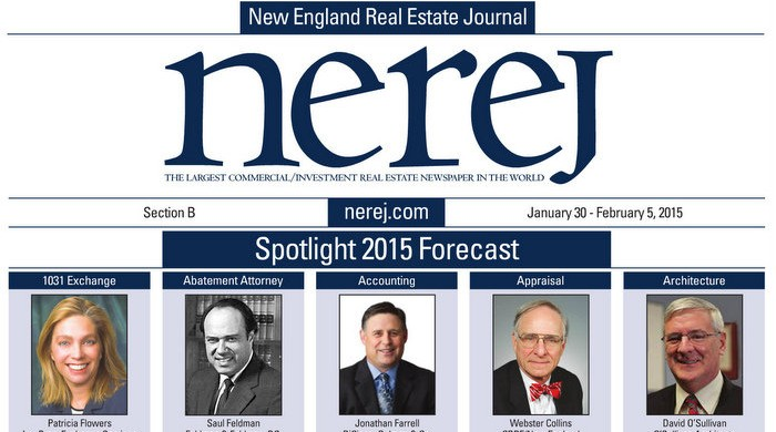 New England Real Estate Journal 2015 Spotlight