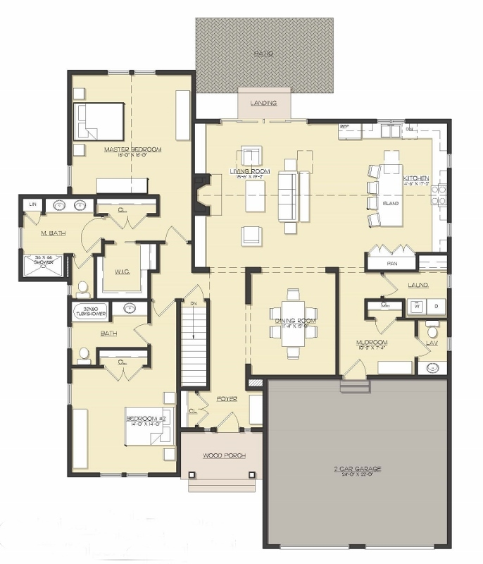 The Preserve at the Bay Club - Floor Plan 2