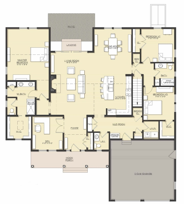 The Preserve at the Bay Club - Floor Plan