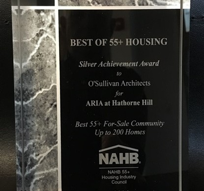 Silver Award - NAHB Best of 55+ Housing - For Sale Community