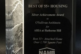 National Design Award 2016  Best of 55+ Housing …… For Sale Attached Home