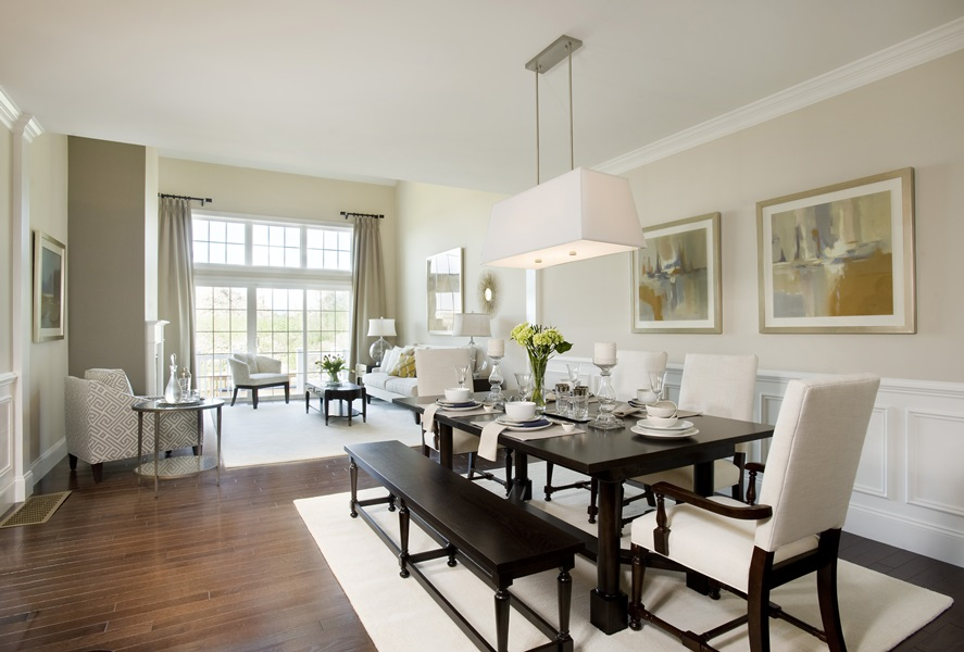 Silver Award Townhouse Living Dining Room