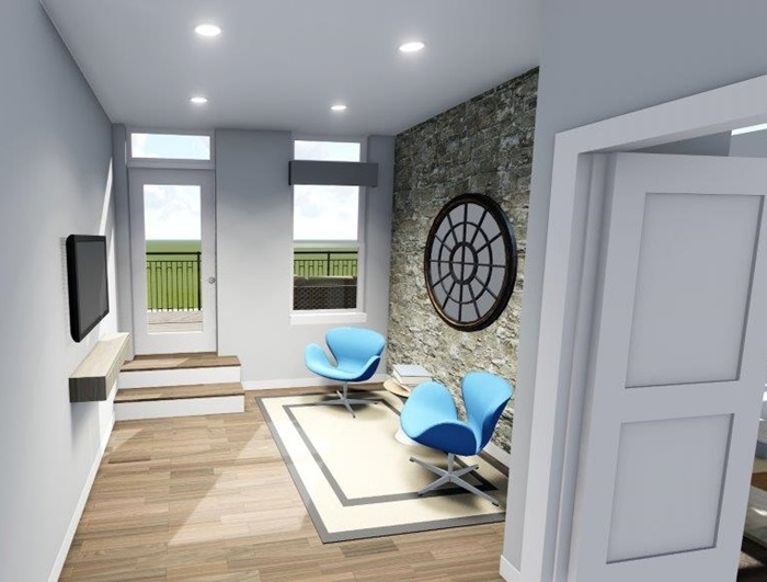 Interior Perspective - New 3D Rendering