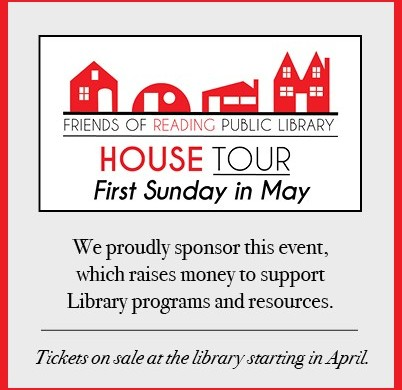 House Tour Sponsor - Friends of the Reading Public Library