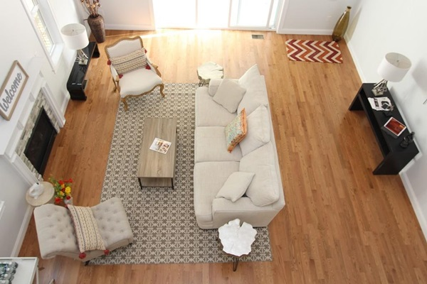 Acorn Place - Single Family - Living Room from the Loft