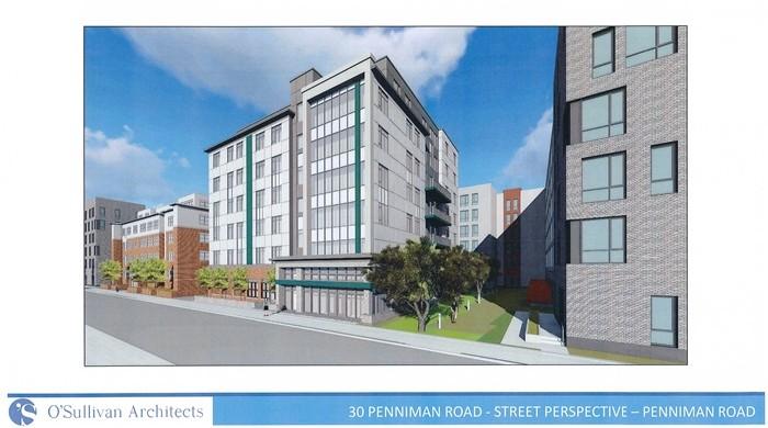 30 Penniman Road - Street Perspective -